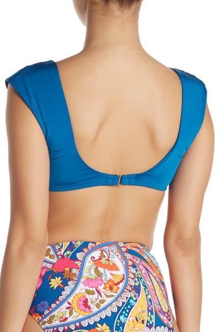 Image of Trina Turk Front Knot Bikini Top