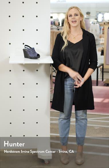 Leesa Wedge Sandal, sales video thumbnail