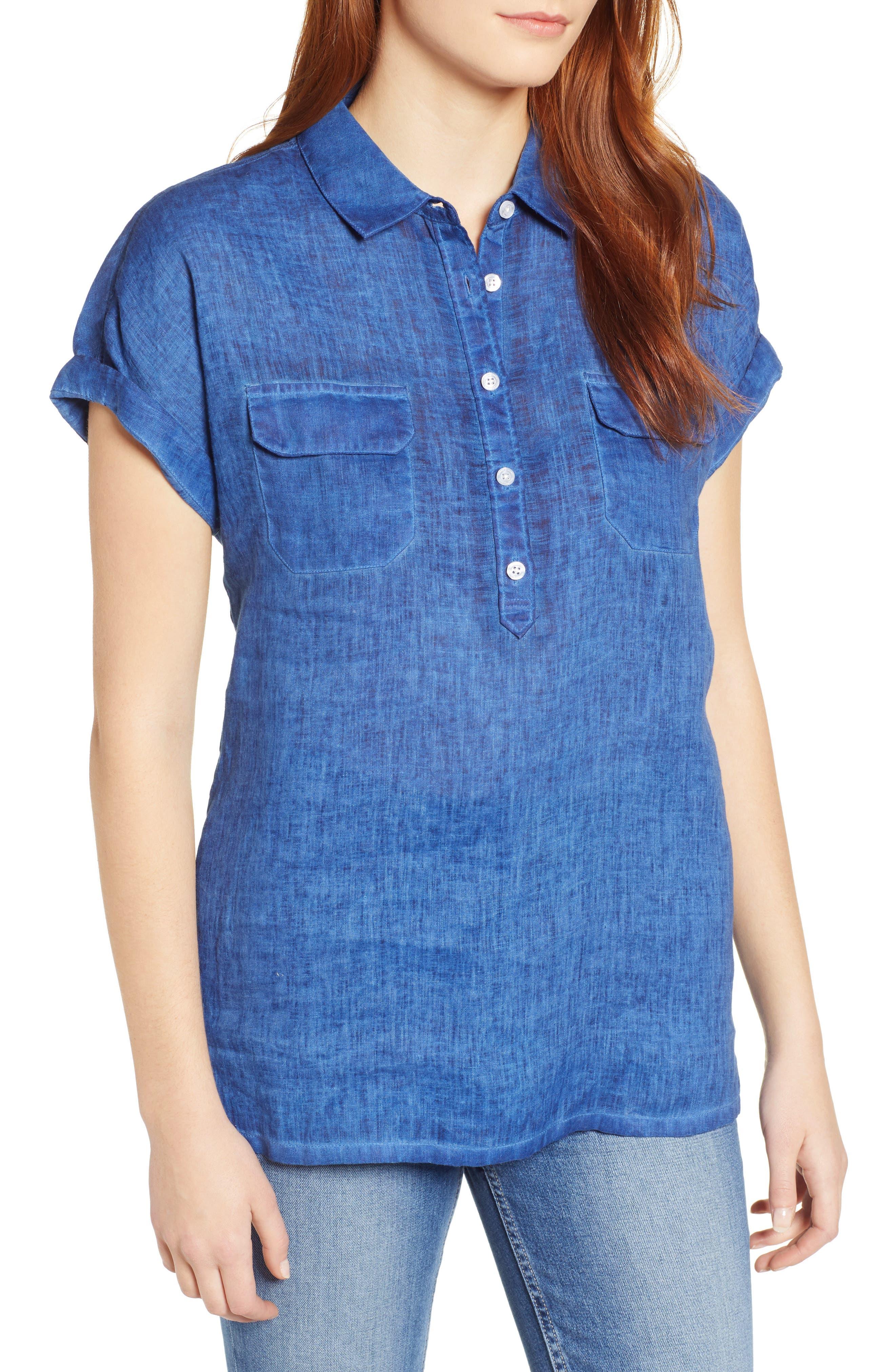 Tommy Bahama T-shirts Sea Spray Linen Shirt