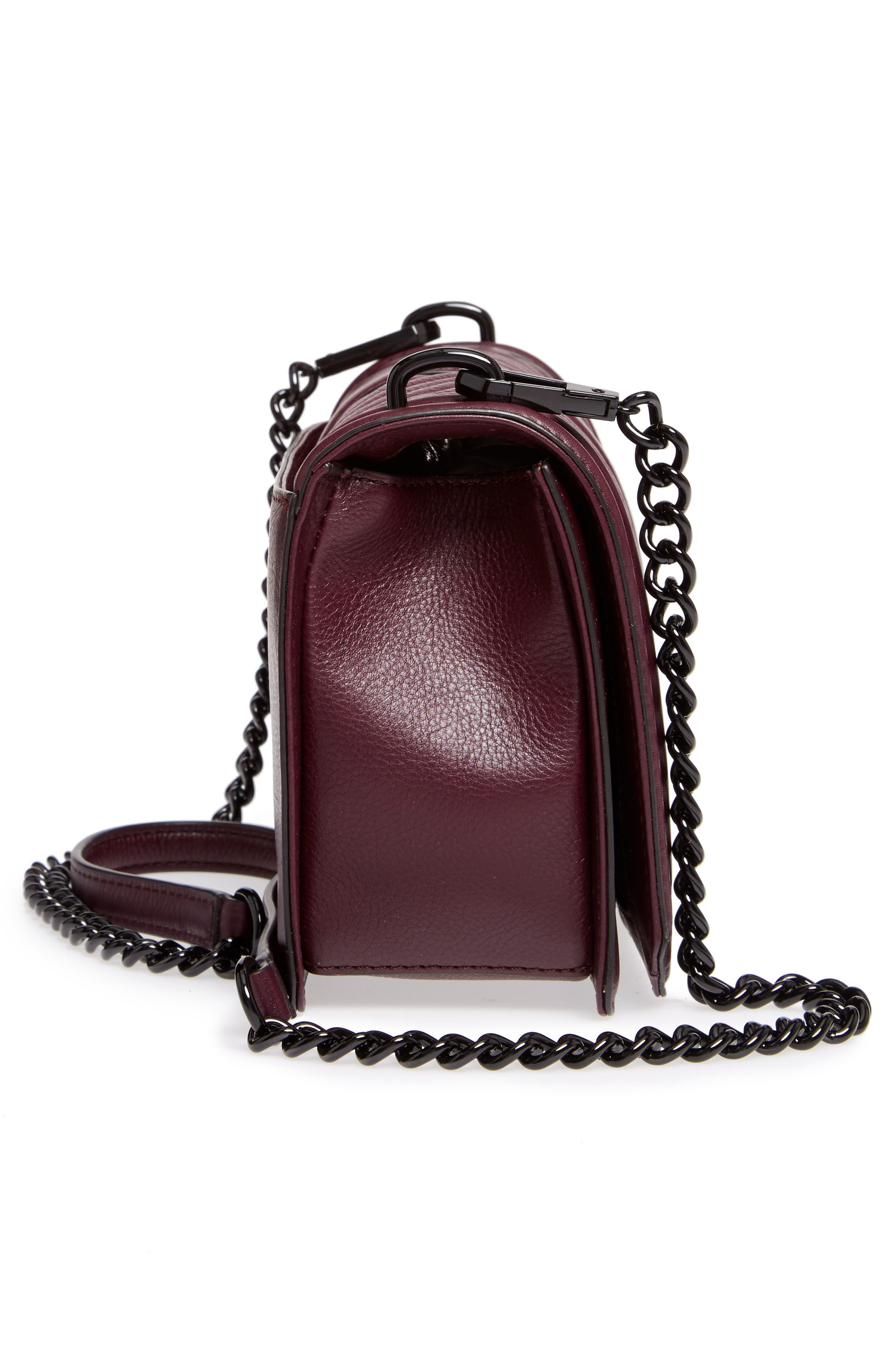 ,                             Love Leather Crossbody Bag,                             Alternate thumbnail 20, color,                             610