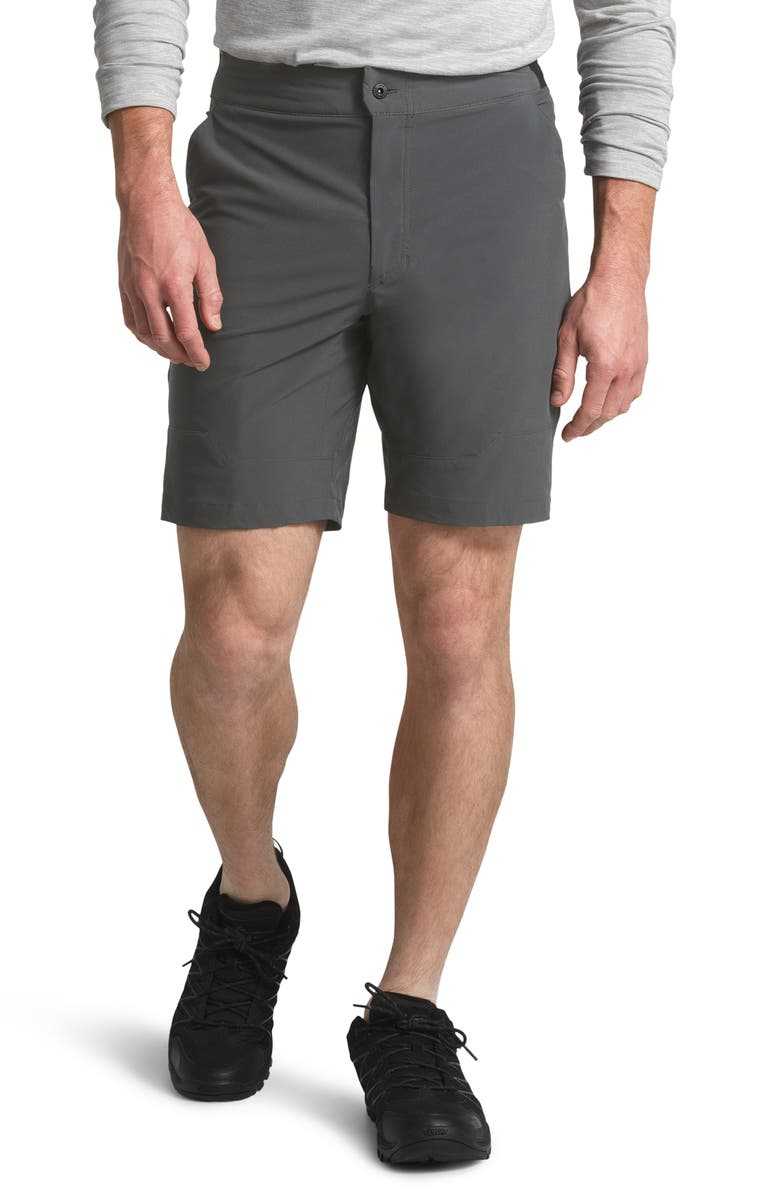 THE NORTH FACE Paramount Active Water Repellent Shorts, Main, color, ASPHALT GREY