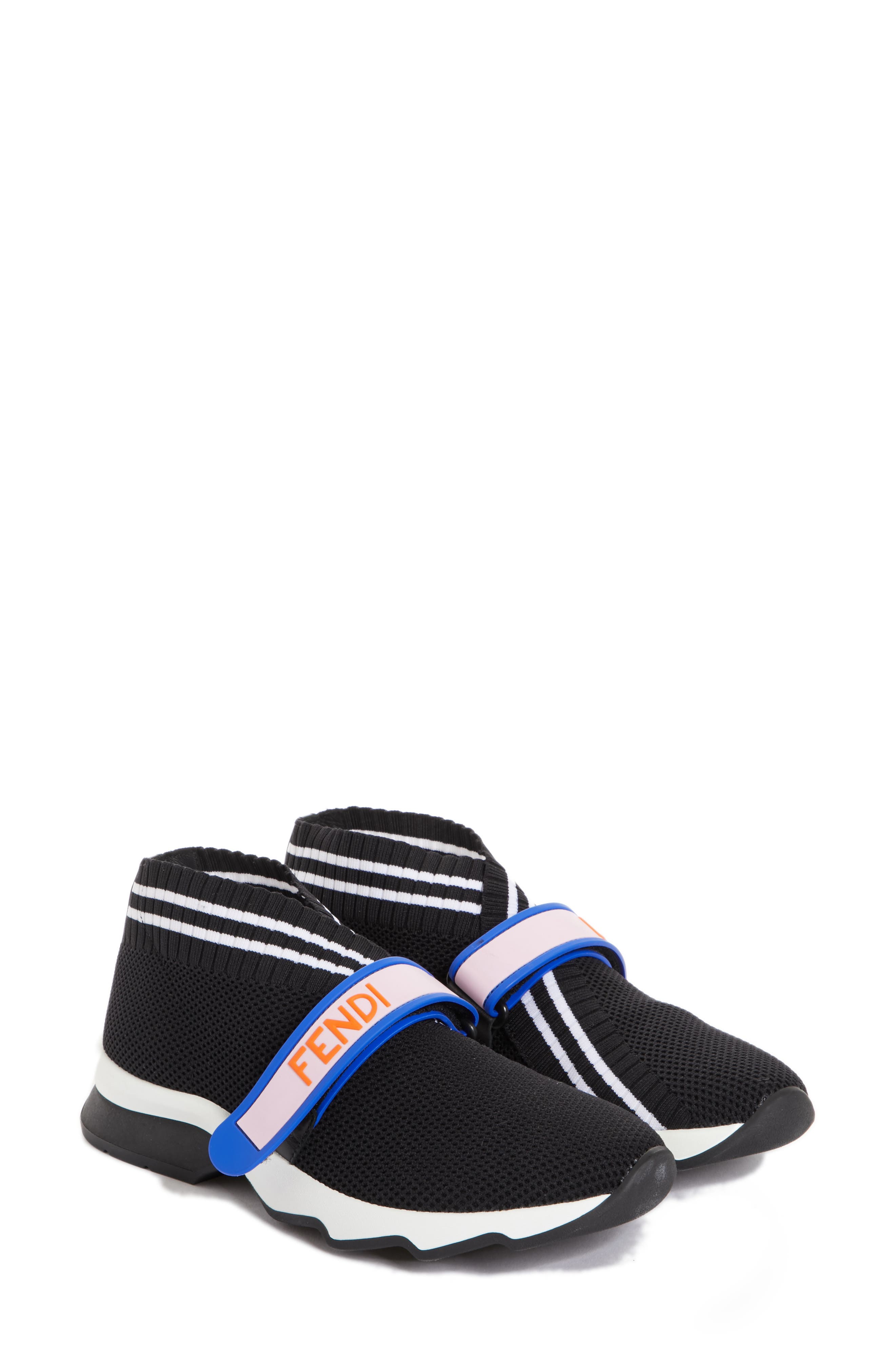 Fendi Rockoko Mismatch Sneaker - Black