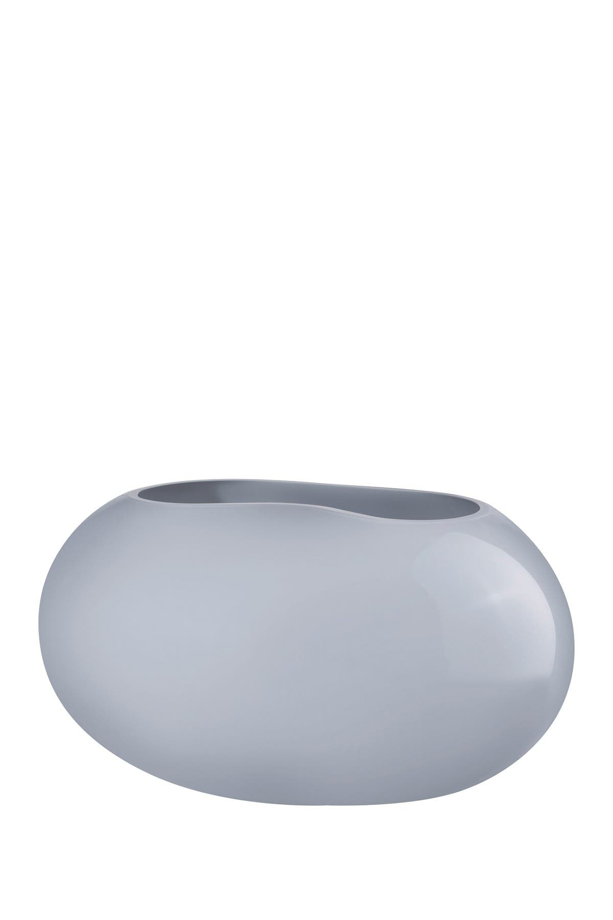 Image of Nude Glass Satin Vase - Small - Opal Grey