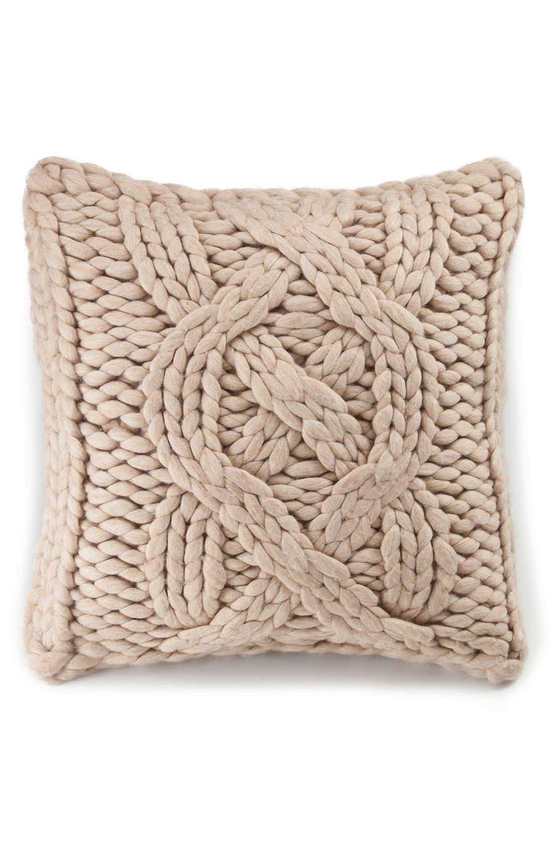 ,                             Oversize Knit Pillow,                             Alternate thumbnail 12, color,                             251