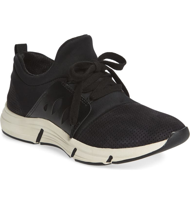 BIONICA Ordell Sneaker, Main, color, BLACK NUBUCK