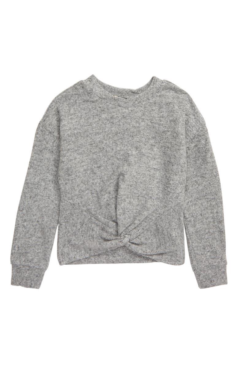 HABITUAL Kylie Hacci Knit Twist Top, Main, color, 031