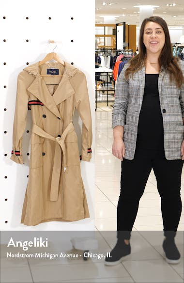 Grosgrain Trench Coat, sales video thumbnail