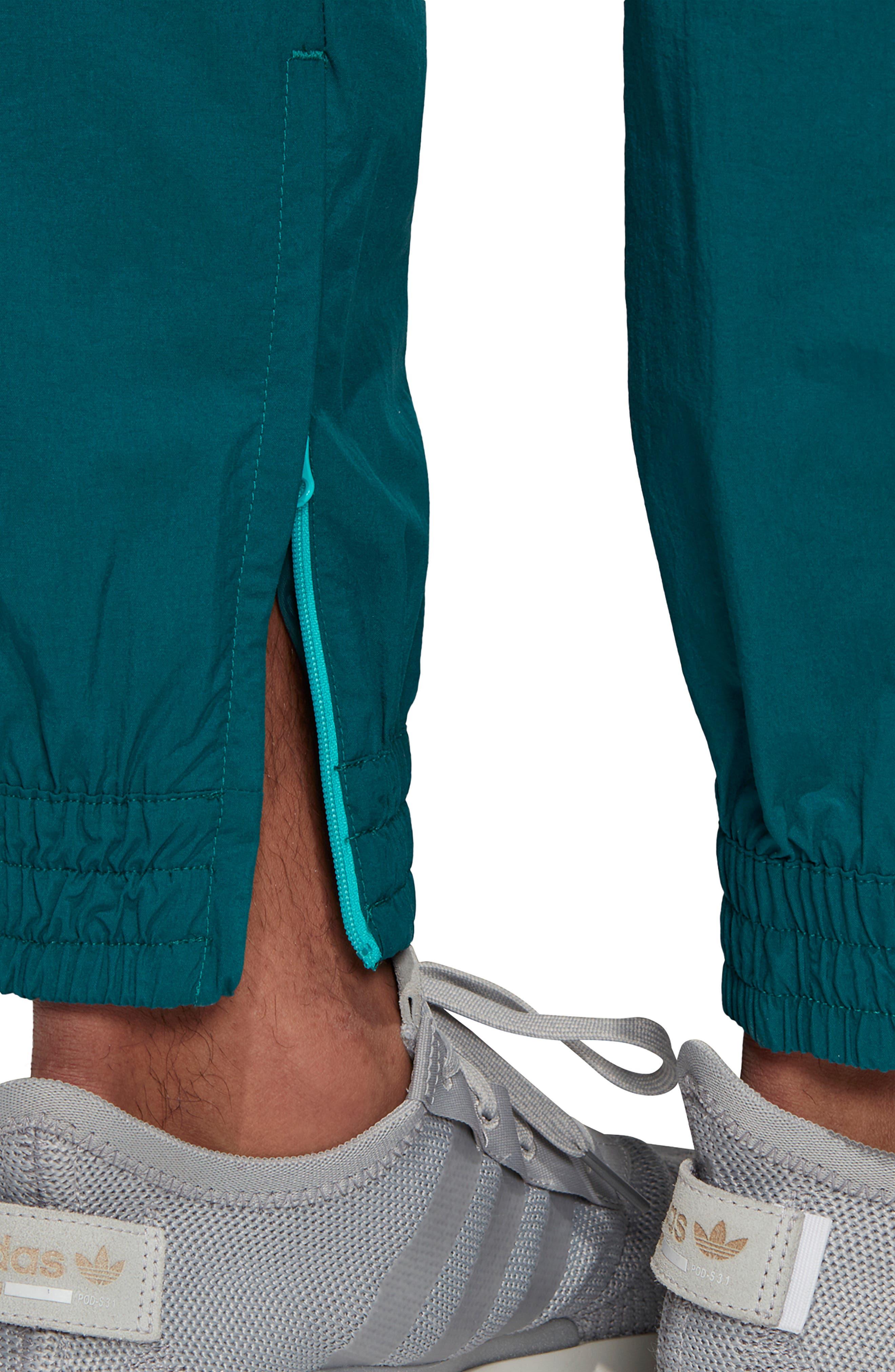,                             Arc Woven Track Pants,                             Alternate thumbnail 7, color,                             RICH GREEN