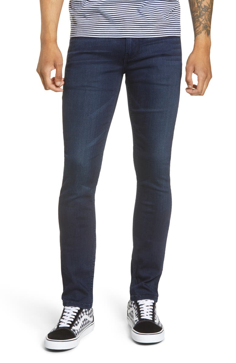 PAIGE Transcend - Croft Skinny Fit Jeans, Main, color, MATTHEWS