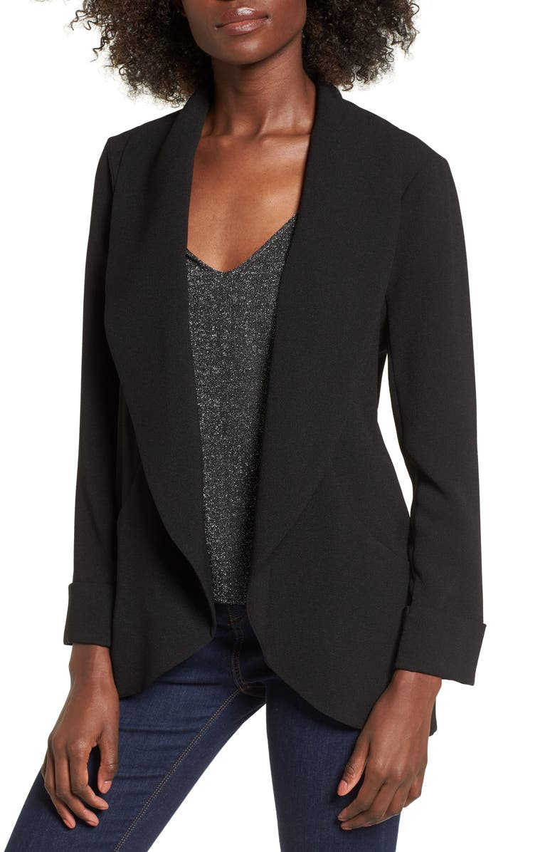 WAYF Cocoon Blazer, Main, color, 001