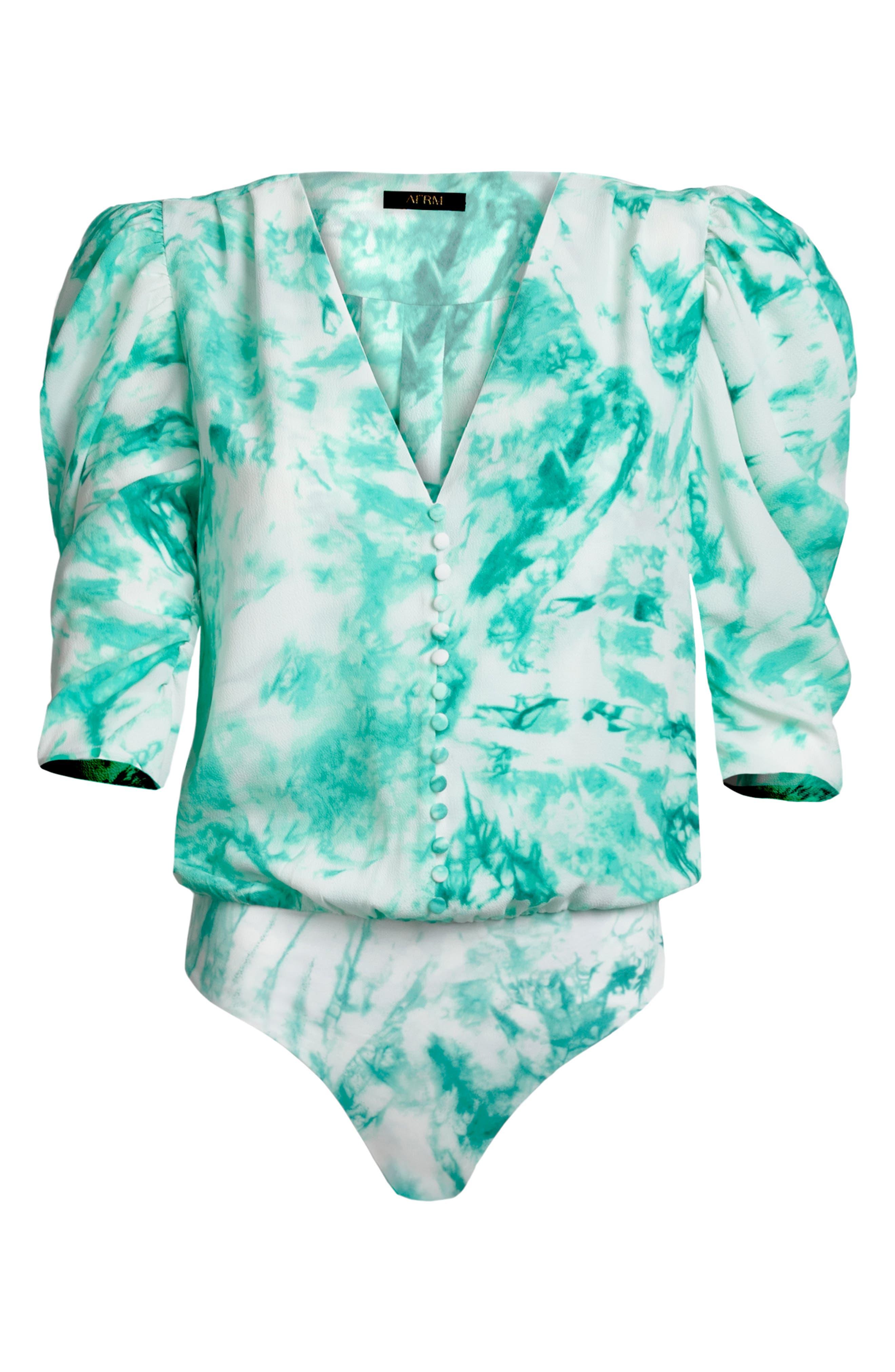 Foxy Puff Sleeve Bodysuit