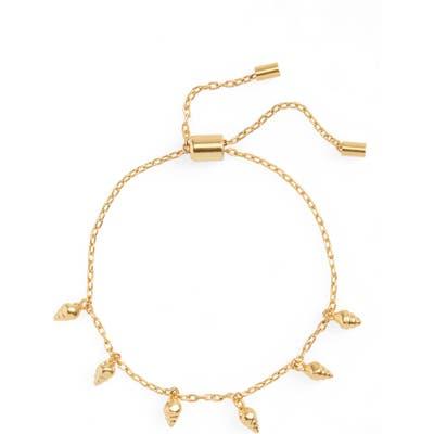 Madewell Teensy Shell Slider Bracelet