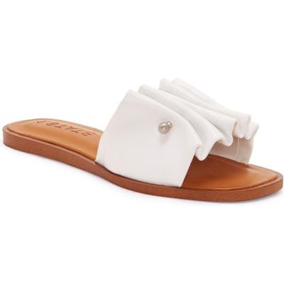 1.state Fann Sandal- White