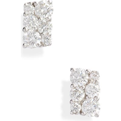 Bony Levy Getty Rectangular Diamond Earrings (Nordstrom Exclusive)