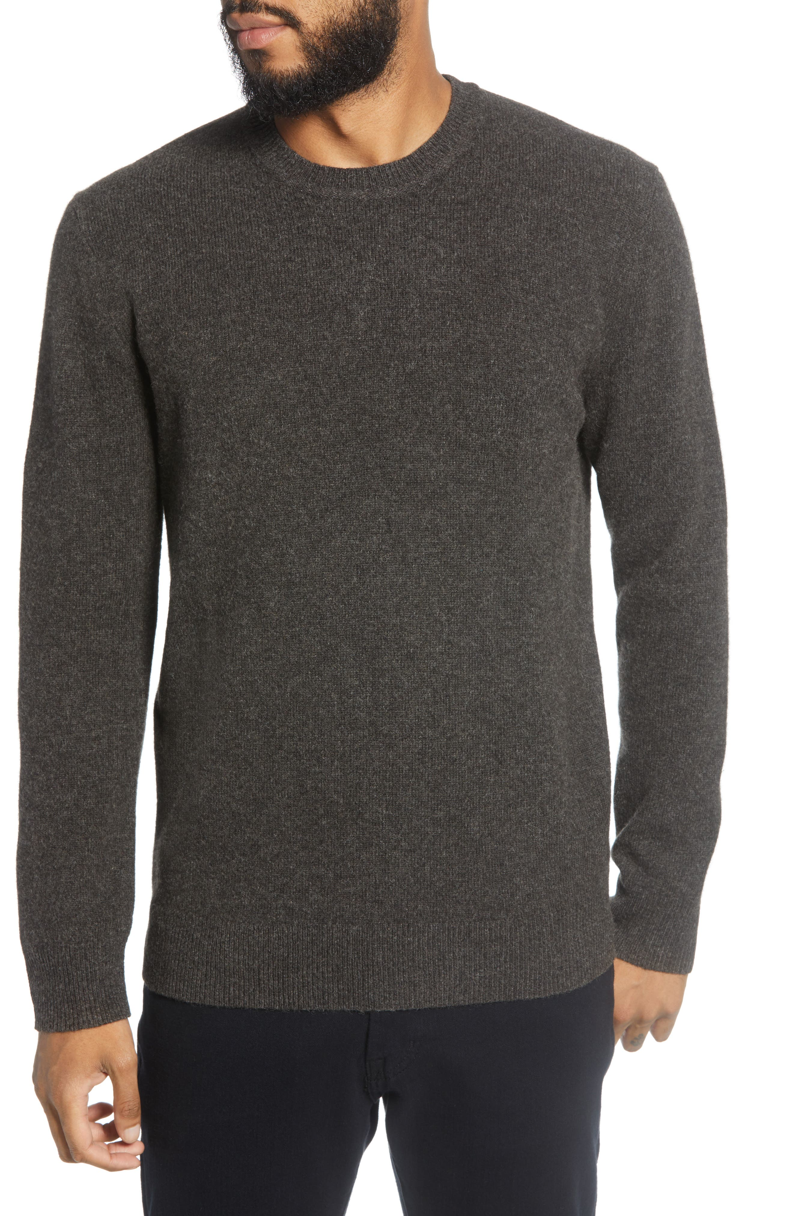 Image of BALDWIN Dean Crew Neck Wool Blend Sweater