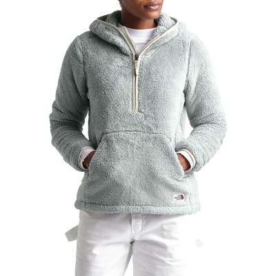 The North Face Campshire High Pile Fleece Pullover Hoodie, Grey