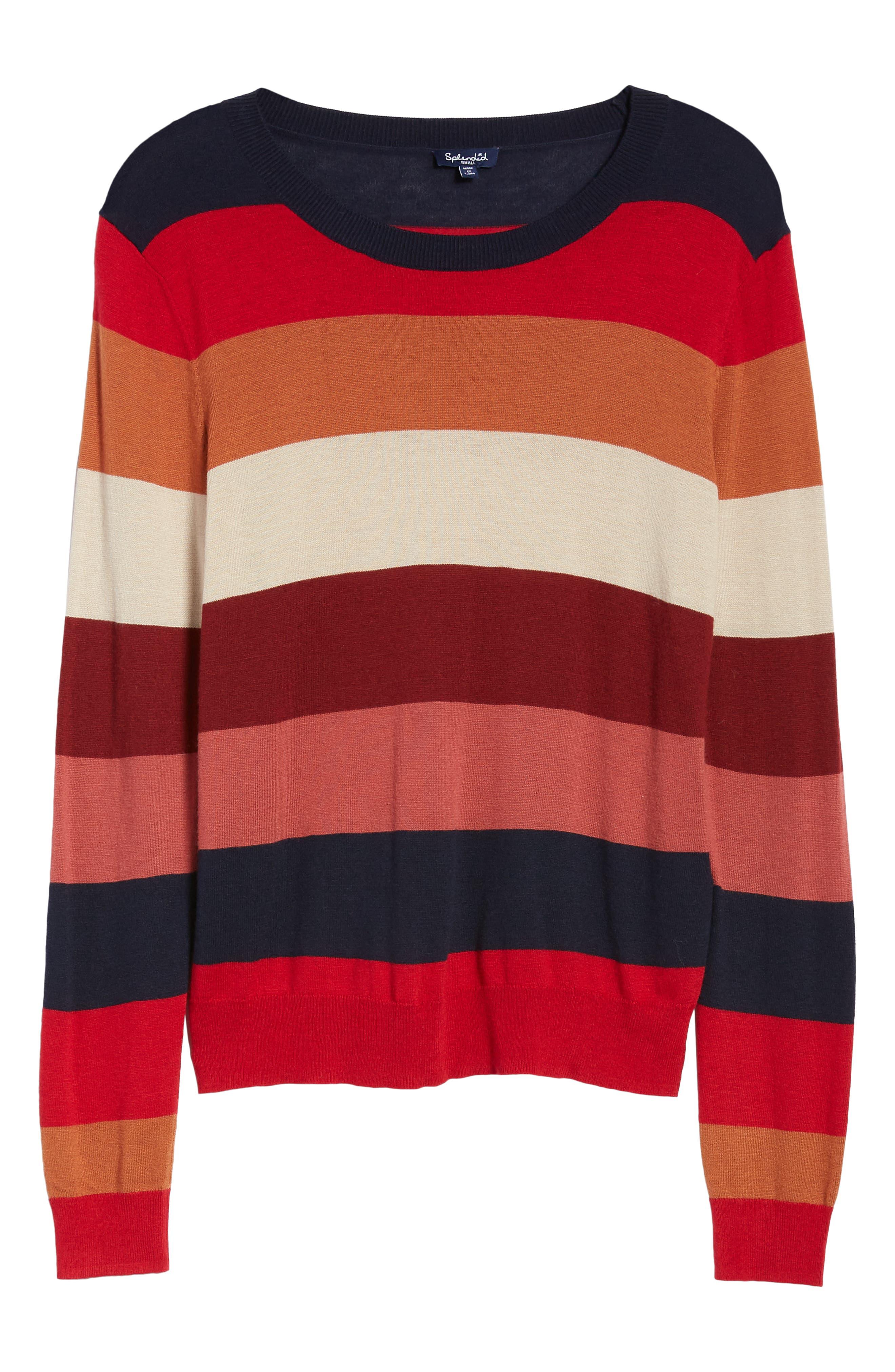 Splendid Tops Duke Stripe Pullover