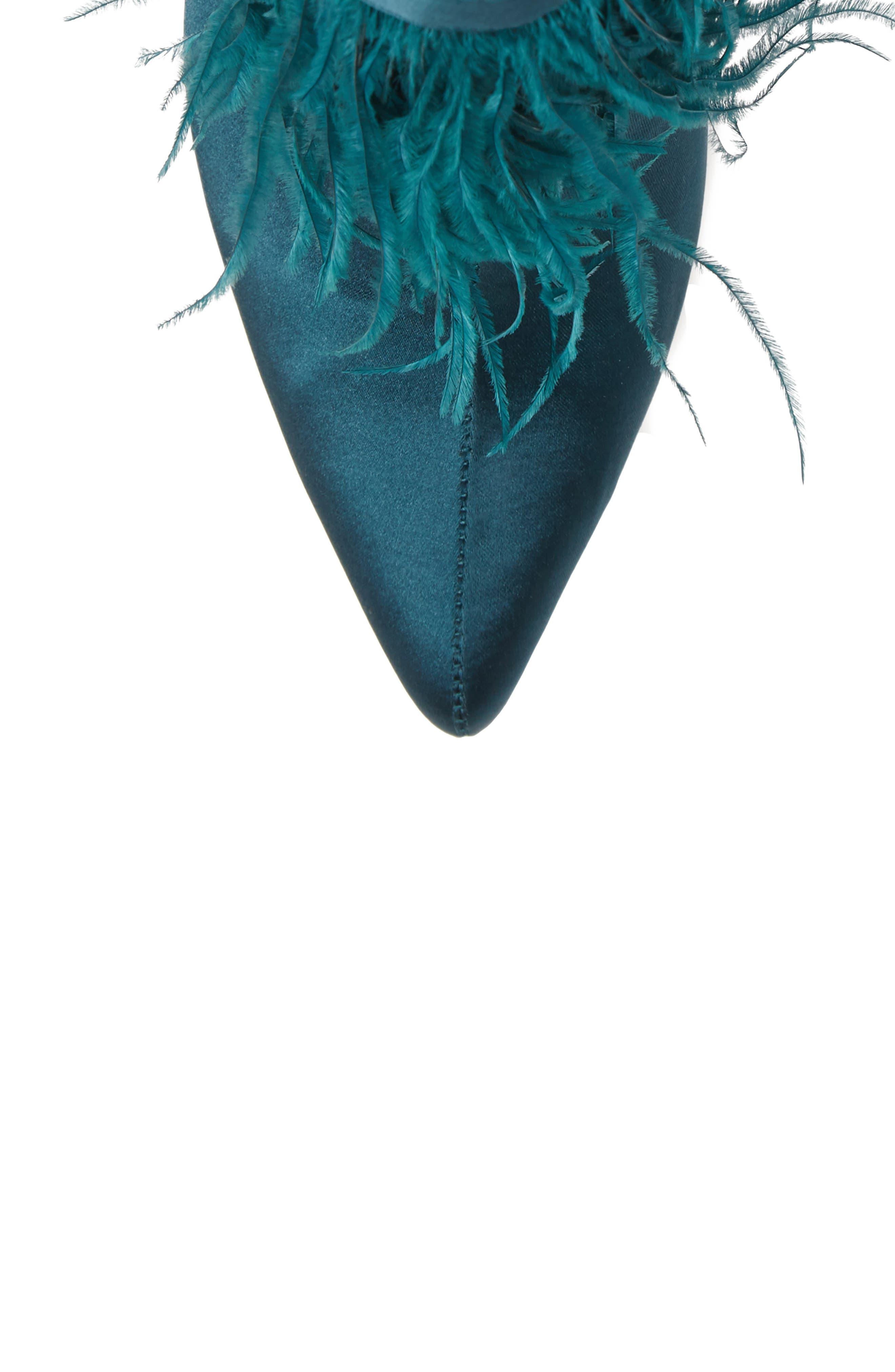 ,                             Danella Feather Bootie,                             Alternate thumbnail 5, color,                             PINE SATIN