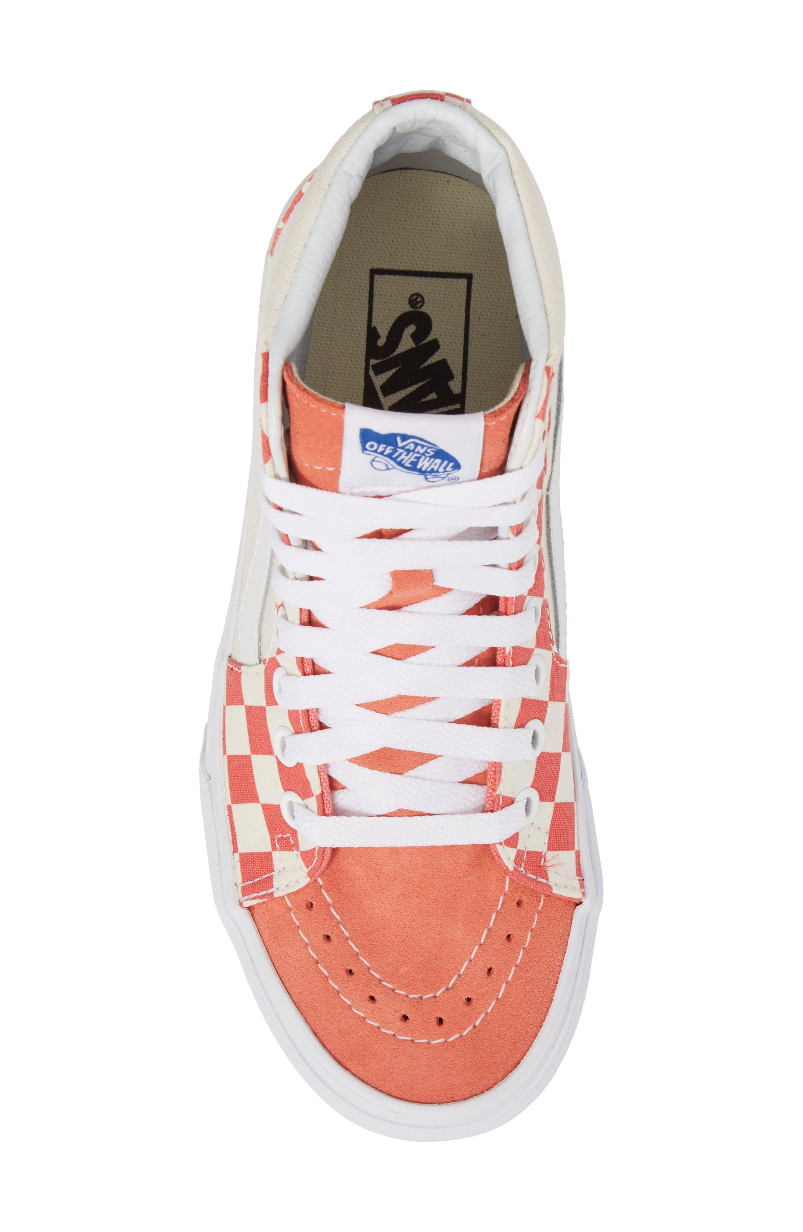 ,                             Sk8-Hi Checker Sneaker,                             Alternate thumbnail 27, color,                             950