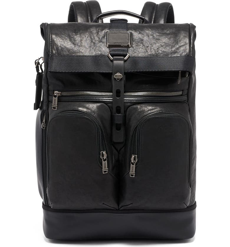 TUMI Alpha Bravo London Backpack, Main, color, BLACK