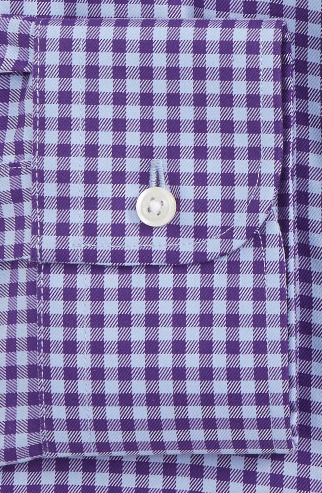 ,                             Traditional Fit Non-Iron Gingham Dress Shirt,                             Alternate thumbnail 69, color,                             520