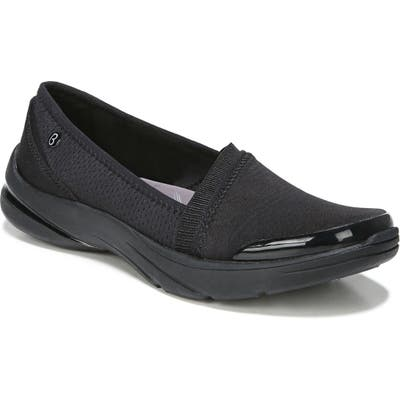 Bzees Lollipop Slip-On Sneaker- Black
