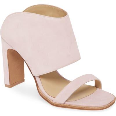 42 Gold Linx Slide Sandal- Purple