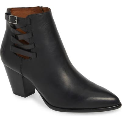 Frye Reed Strappy Bootie, Black