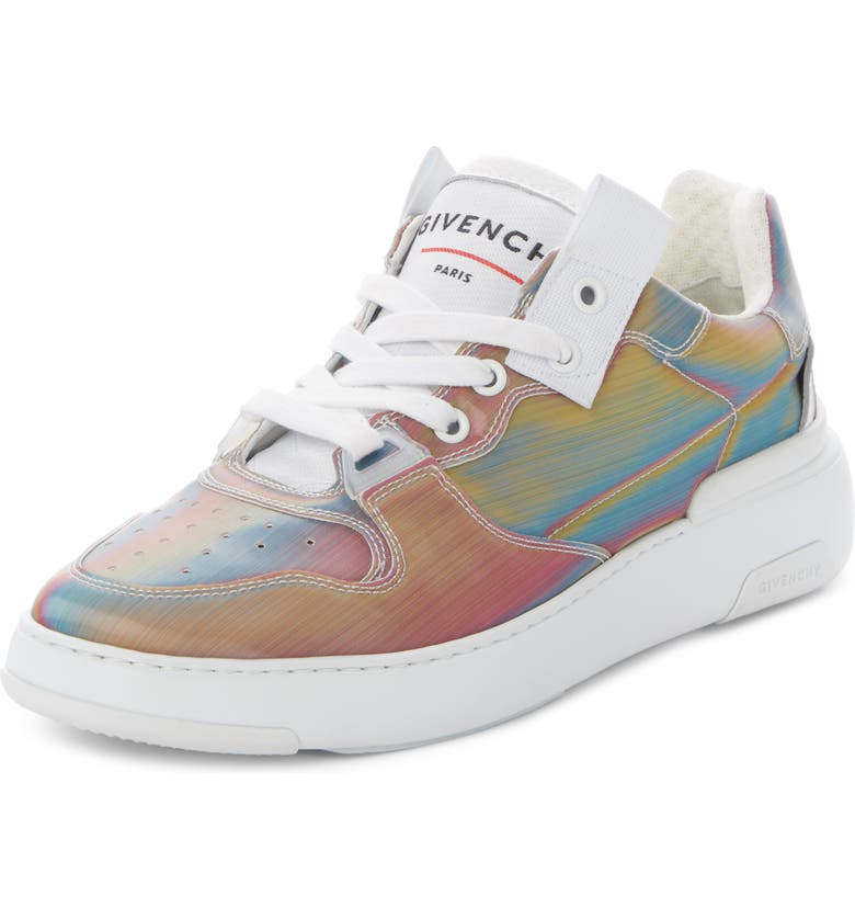 GIVENCHY Hologram Perforated Low Top Sneaker, Main, color, MULTICOLOR