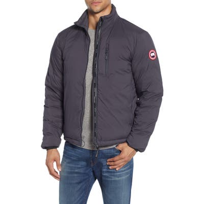 Canada Goose Lodge Packable 750 Fill Power Down Jacket, Grey