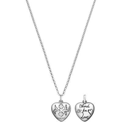 Gucci Blind For Love Pendant Necklace