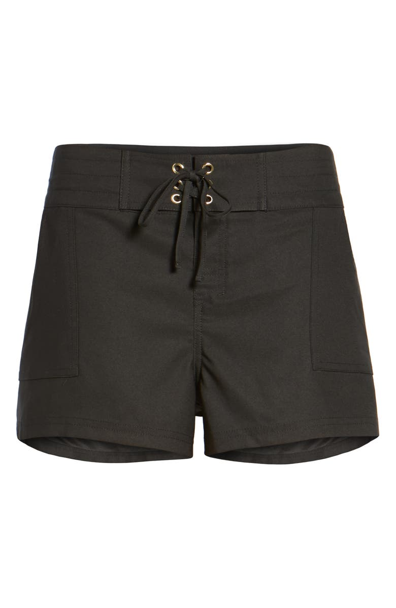 LA BLANCA 'Boardwalk' Shorts, Main, color, BLACK