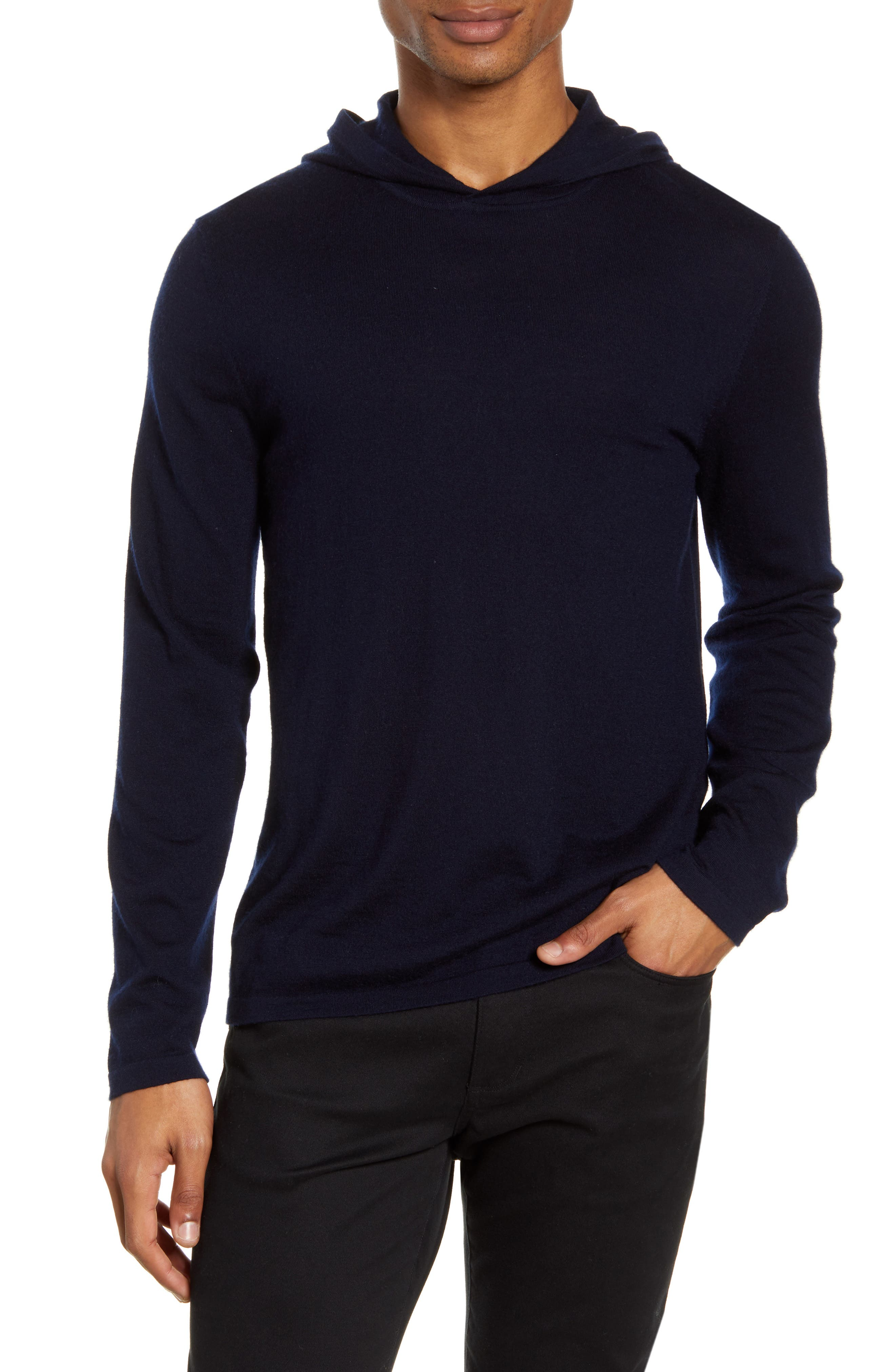 Men's Vince Wool & Cashmere Pullover Hoodie