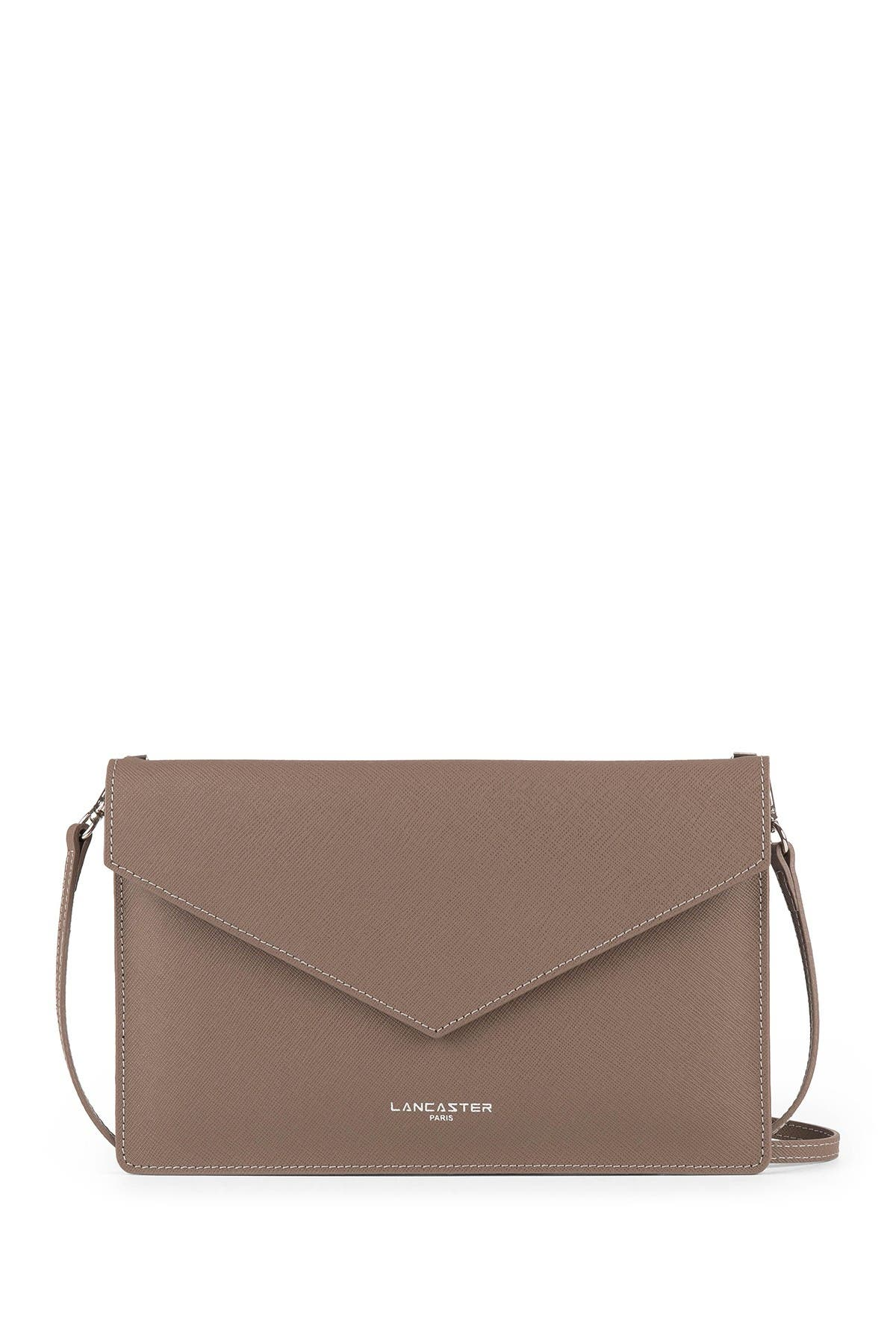 Image of Lancaster Paris Element Saffiano Leather Clutch