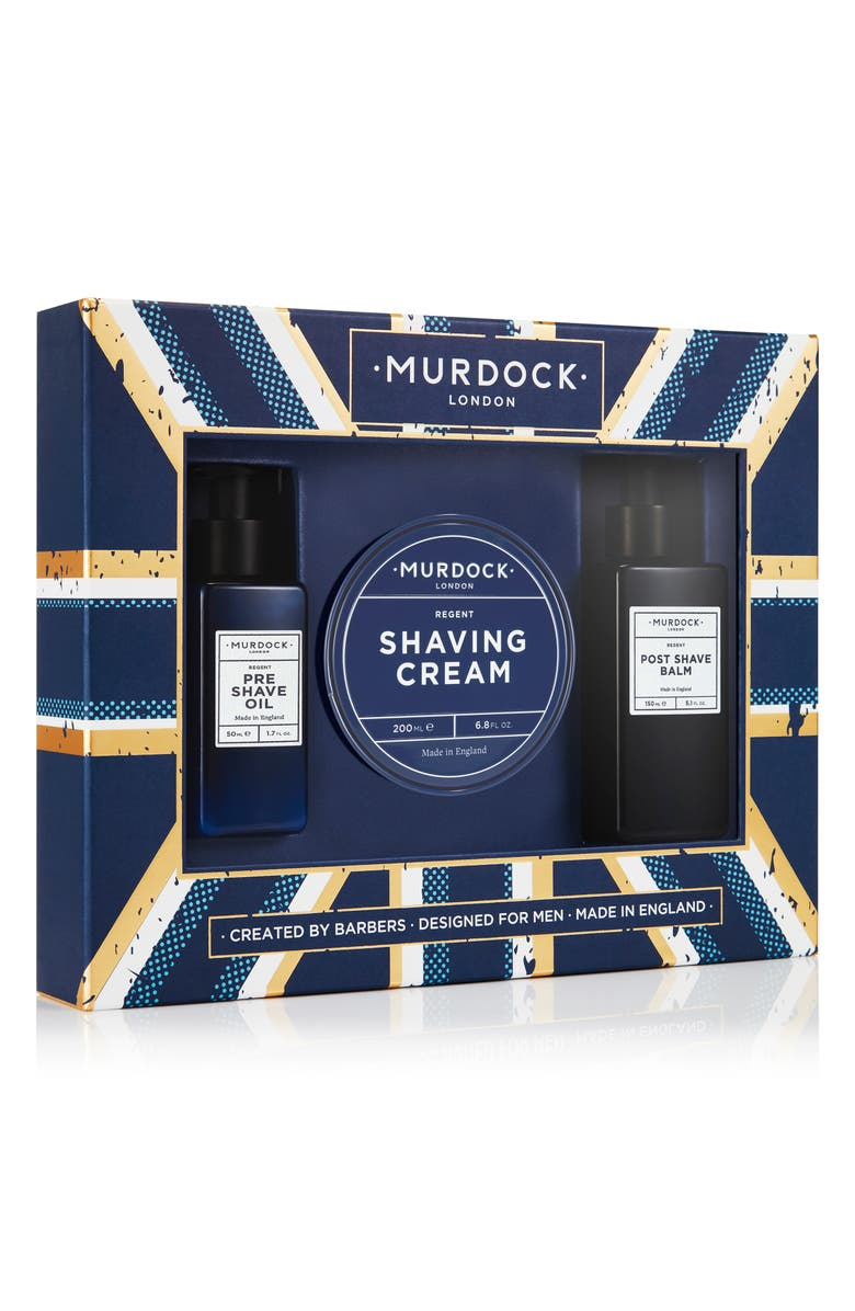 MURDOCK LONDON Wigsby Full Size Shave Set, Main, color, NO COLOR