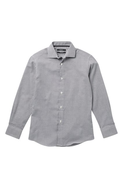 Image of DKNY Honeycomb Woven Shirt