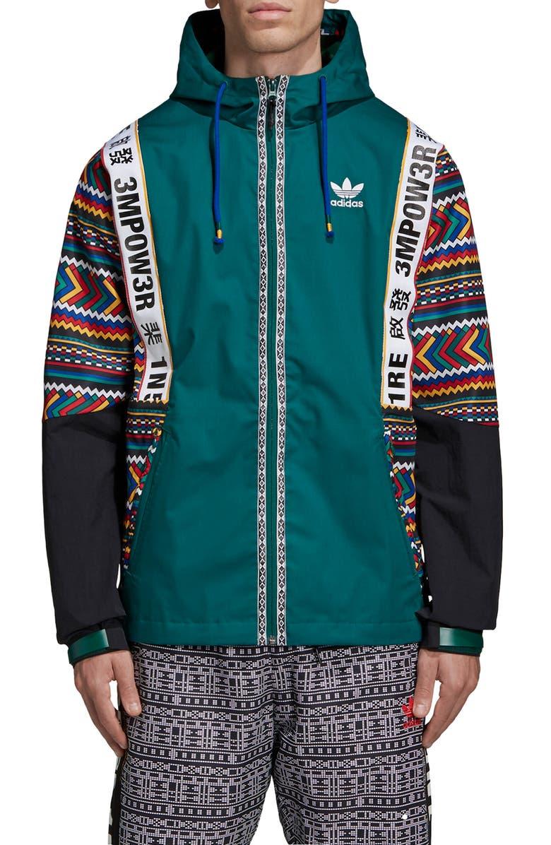 Pharrell Williams Hooded Jacket