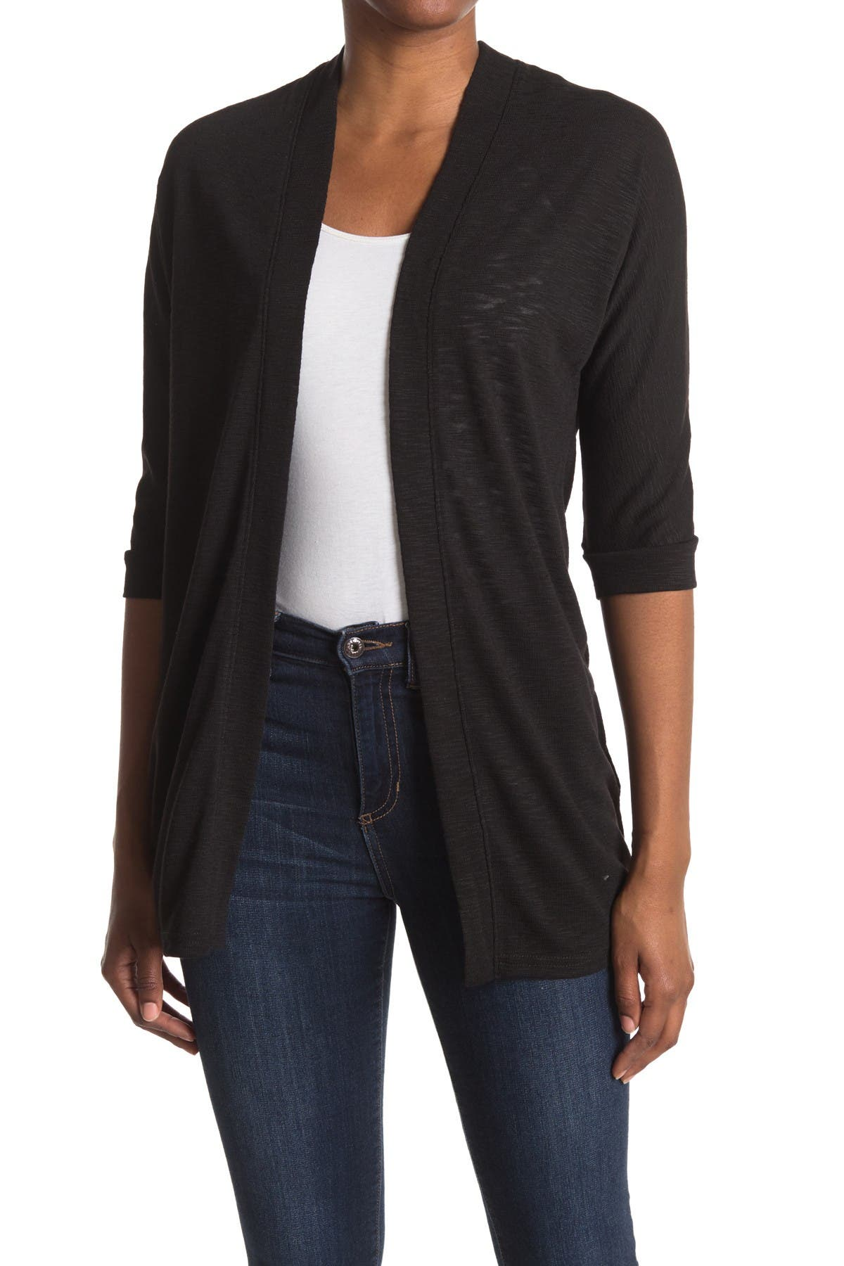 Image of Laundry By Shelli Segal Dolman Sleeve Knit Cardigan