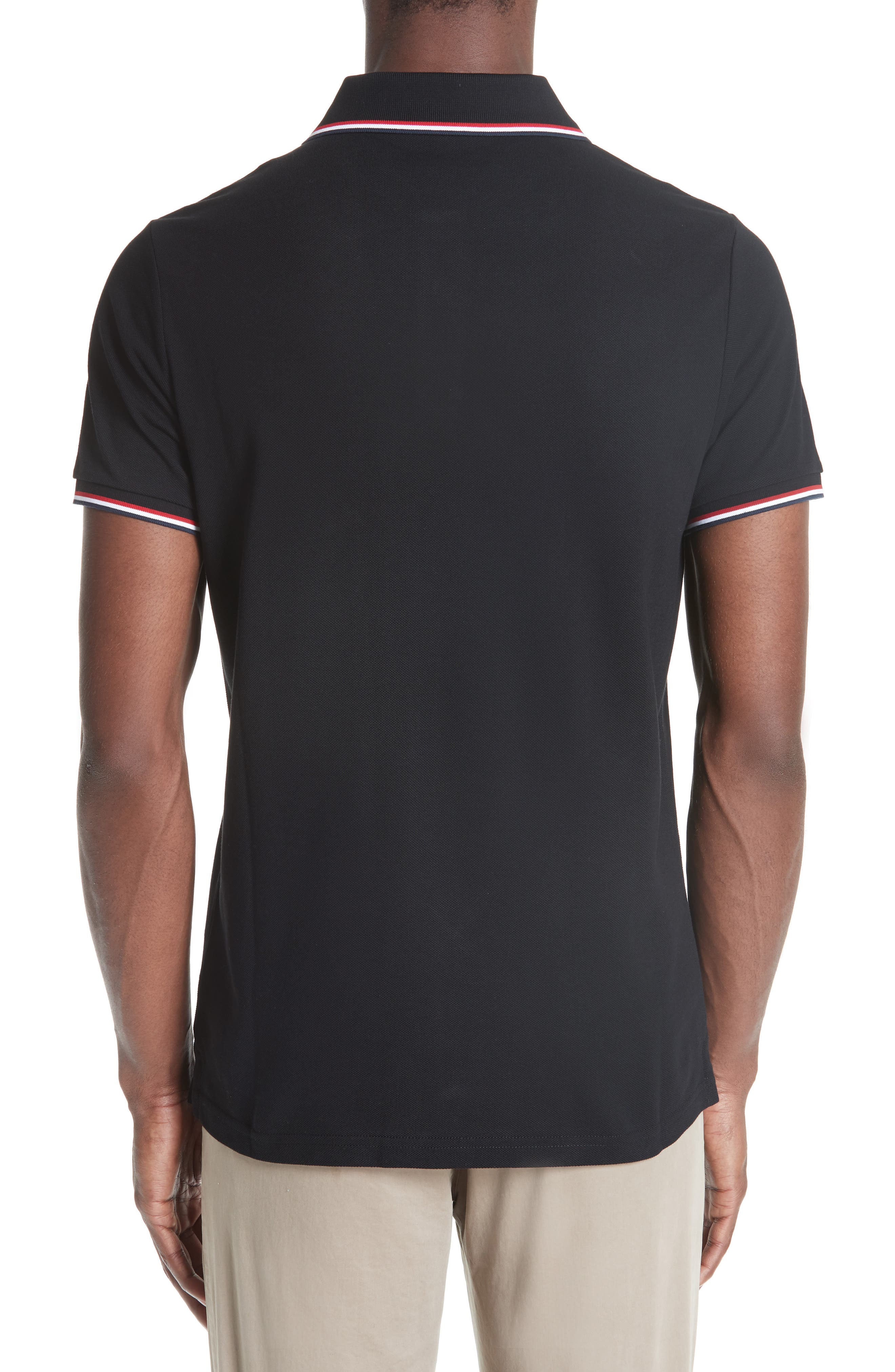 ,                             Maglia Piqué Polo,                             Alternate thumbnail 2, color,                             001