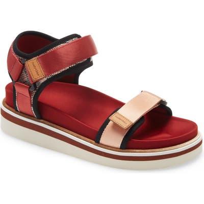 See By Chloe Yumi Platform Sandal, Red