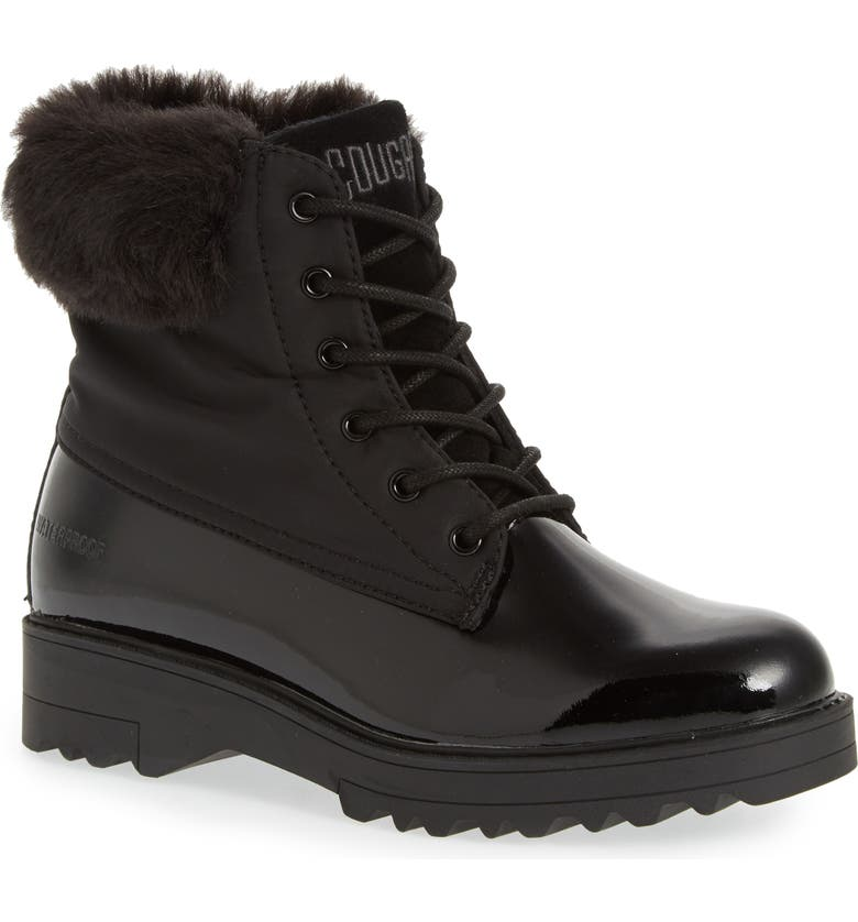 COUGAR Gatineau Waterproof Insulated Boot with Faux Fur Collar, Main, color, 001