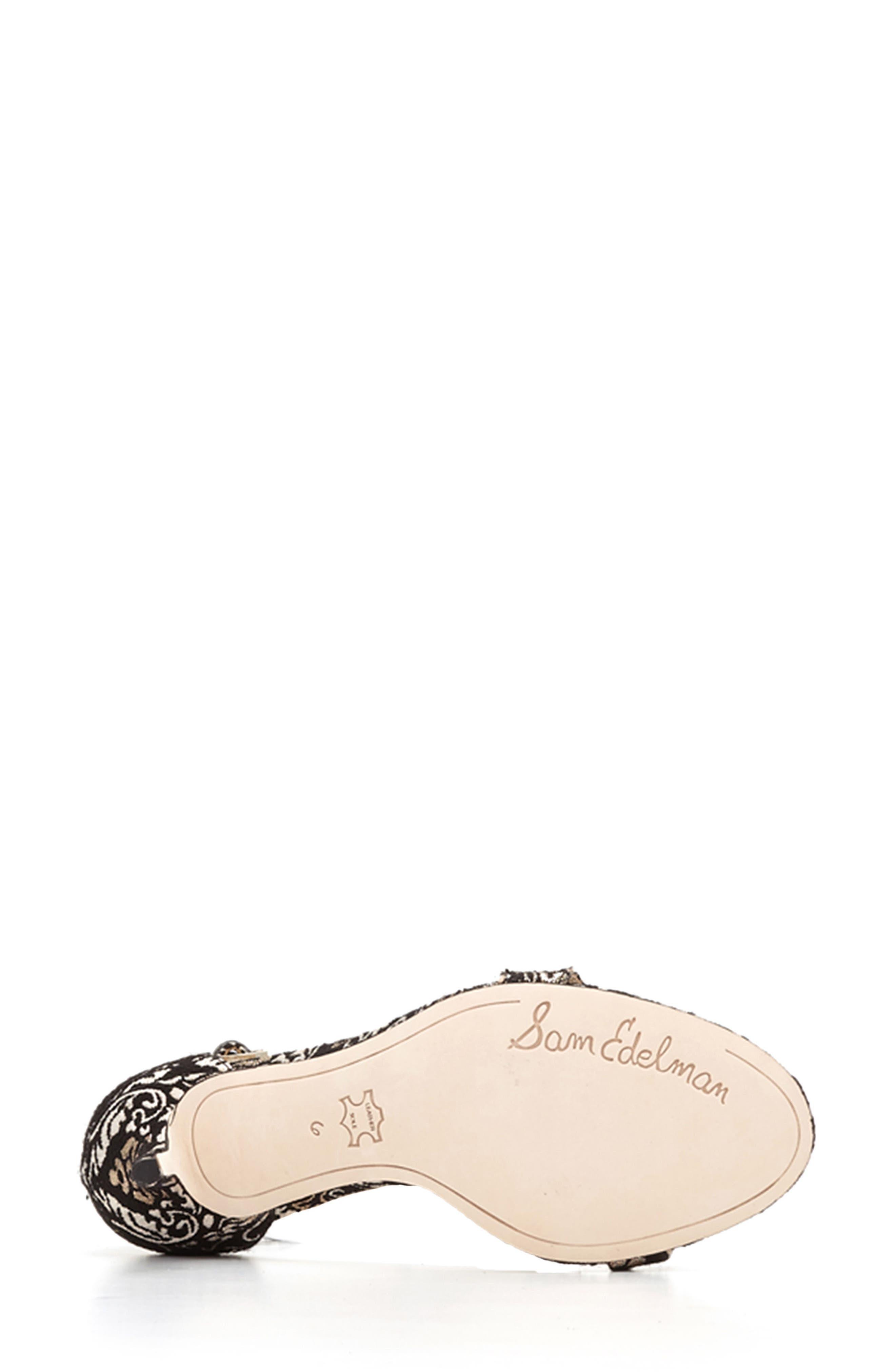 ,                             'Patti' Ankle Strap Sandal,                             Alternate thumbnail 24, color,                             008