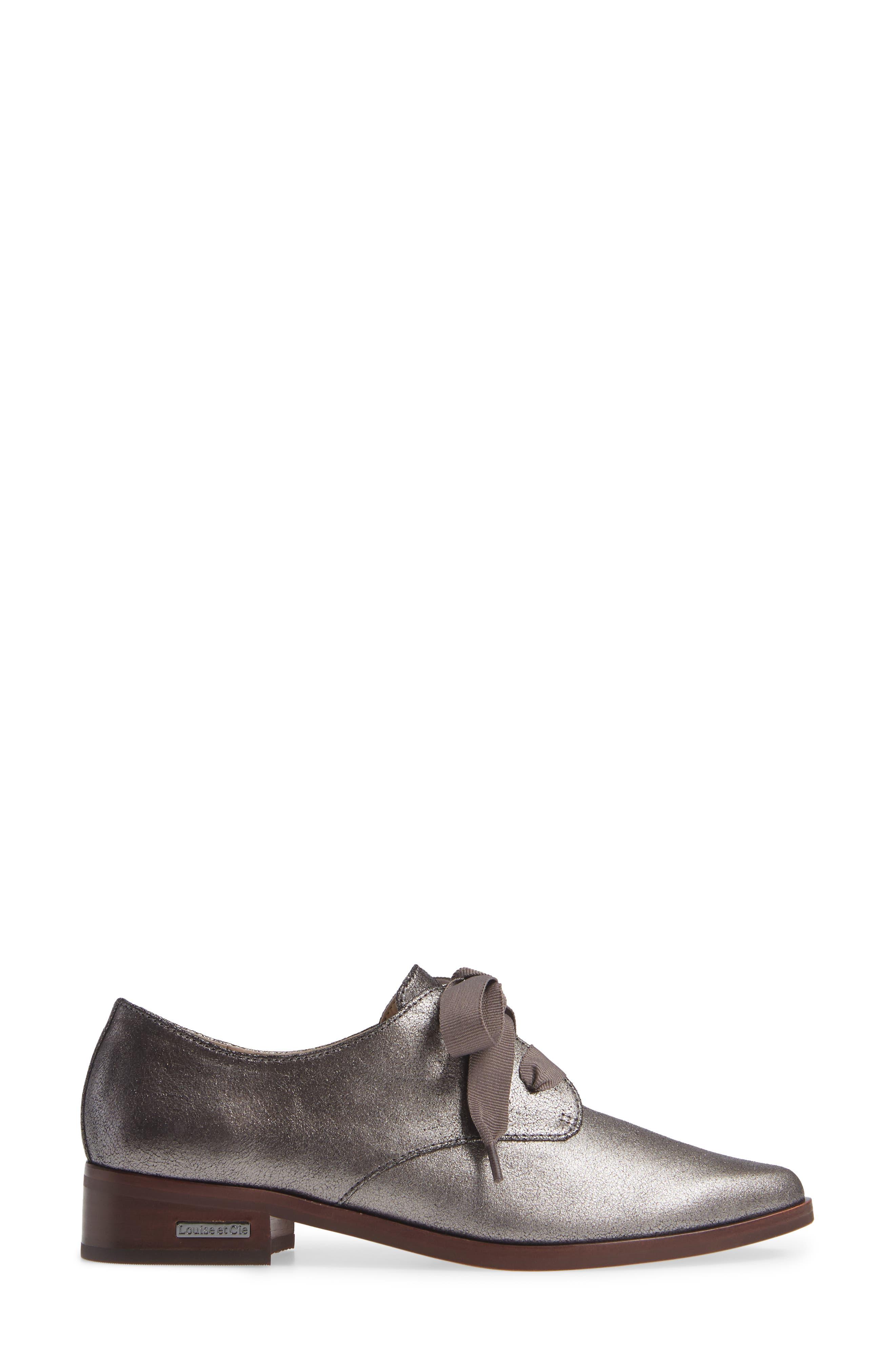 ,                             Adwin Almond Toe Oxford,                             Alternate thumbnail 3, color,                             022