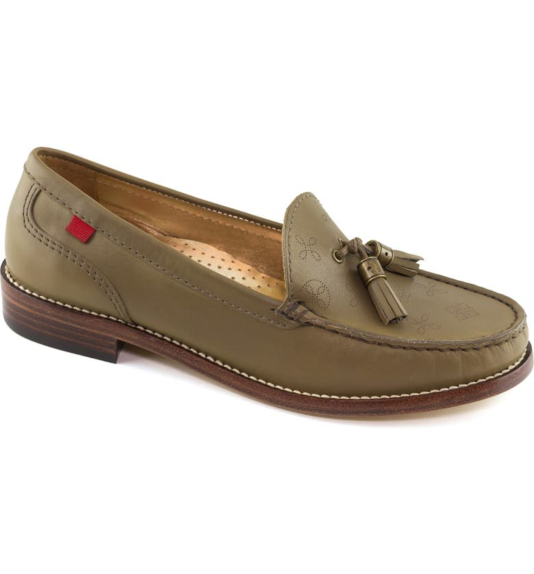 MARC JOSEPH NEW YORK West End Tassel Perforated Loafer, Main, color, 399