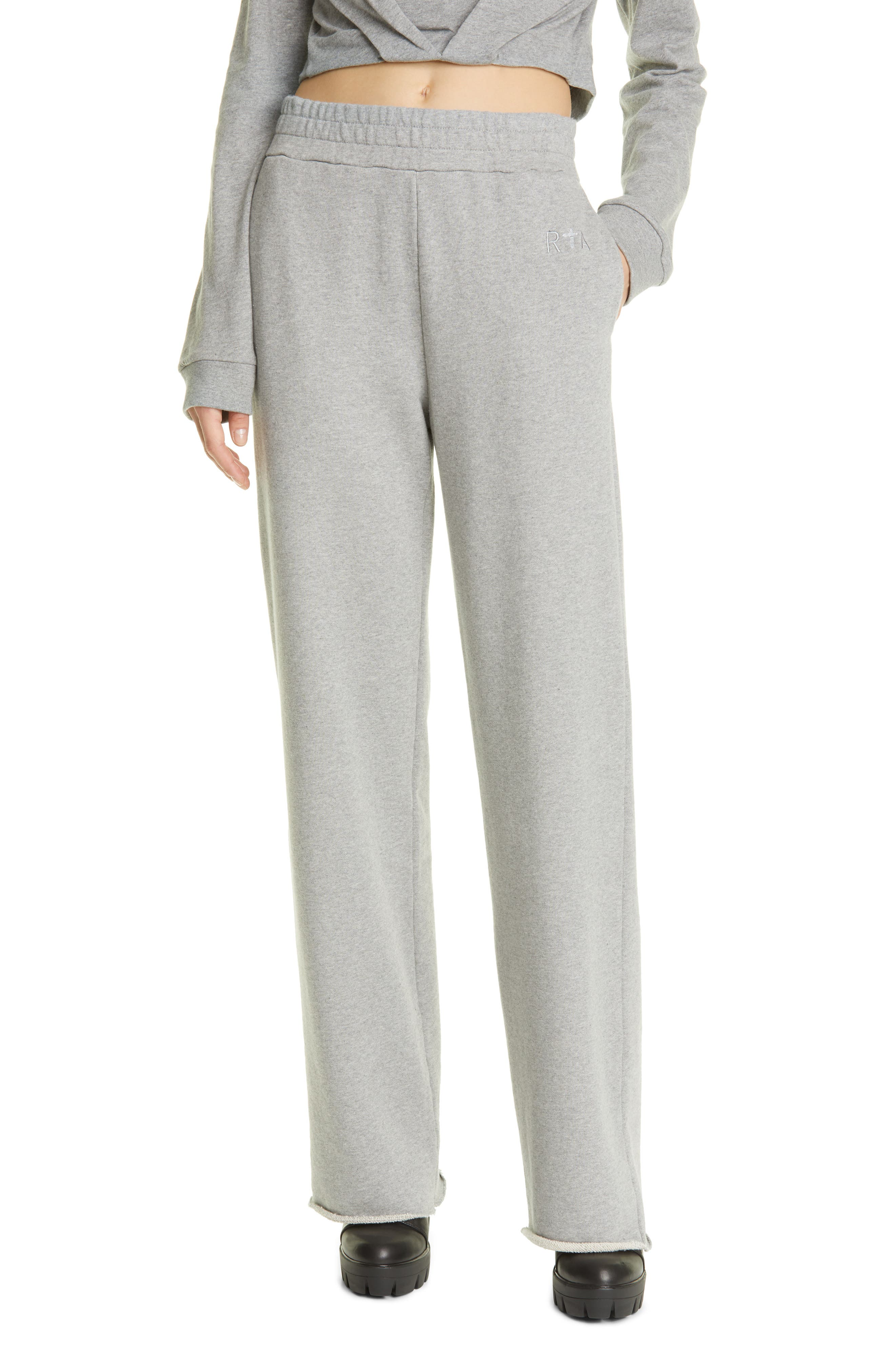 Women's RtA Greta Wide Leg Sweatpants