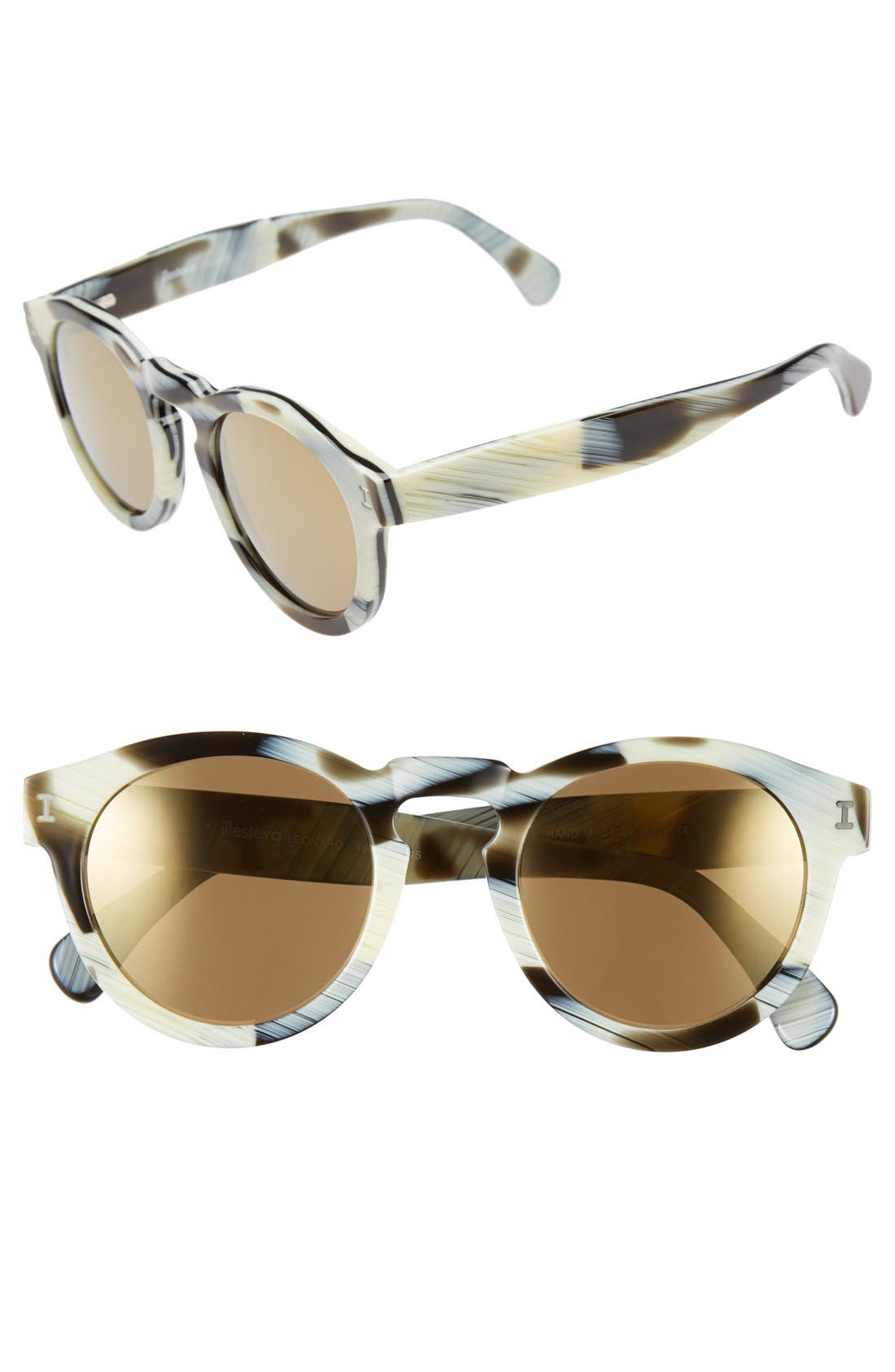 ,                             'Leonard' 47mm Sunglasses,                             Main thumbnail 31, color,                             023
