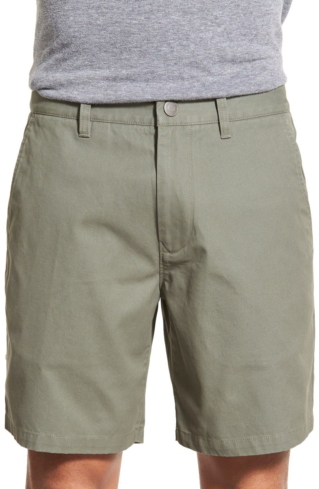,                             Washed Chino Shorts,                             Main thumbnail 44, color,                             305