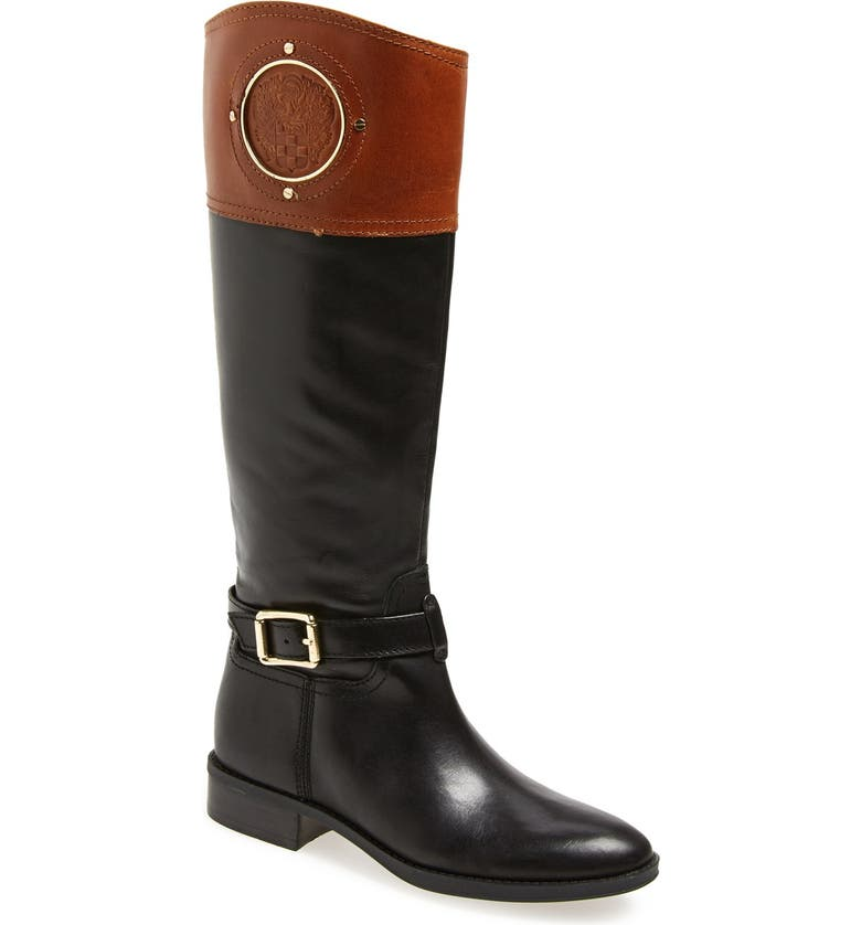 VINCE CAMUTO 'Phillie' Tall Riding Boot, Main, color, 002