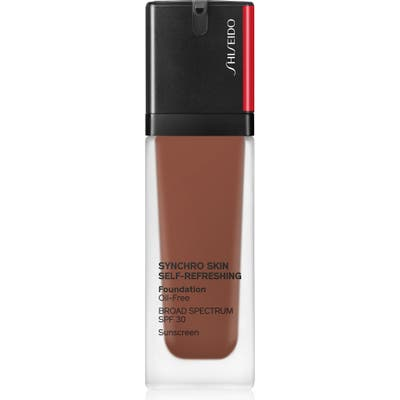 Shiseido Synchro Skin Self-Refreshing Liquid Foundation - 540 Mahogany