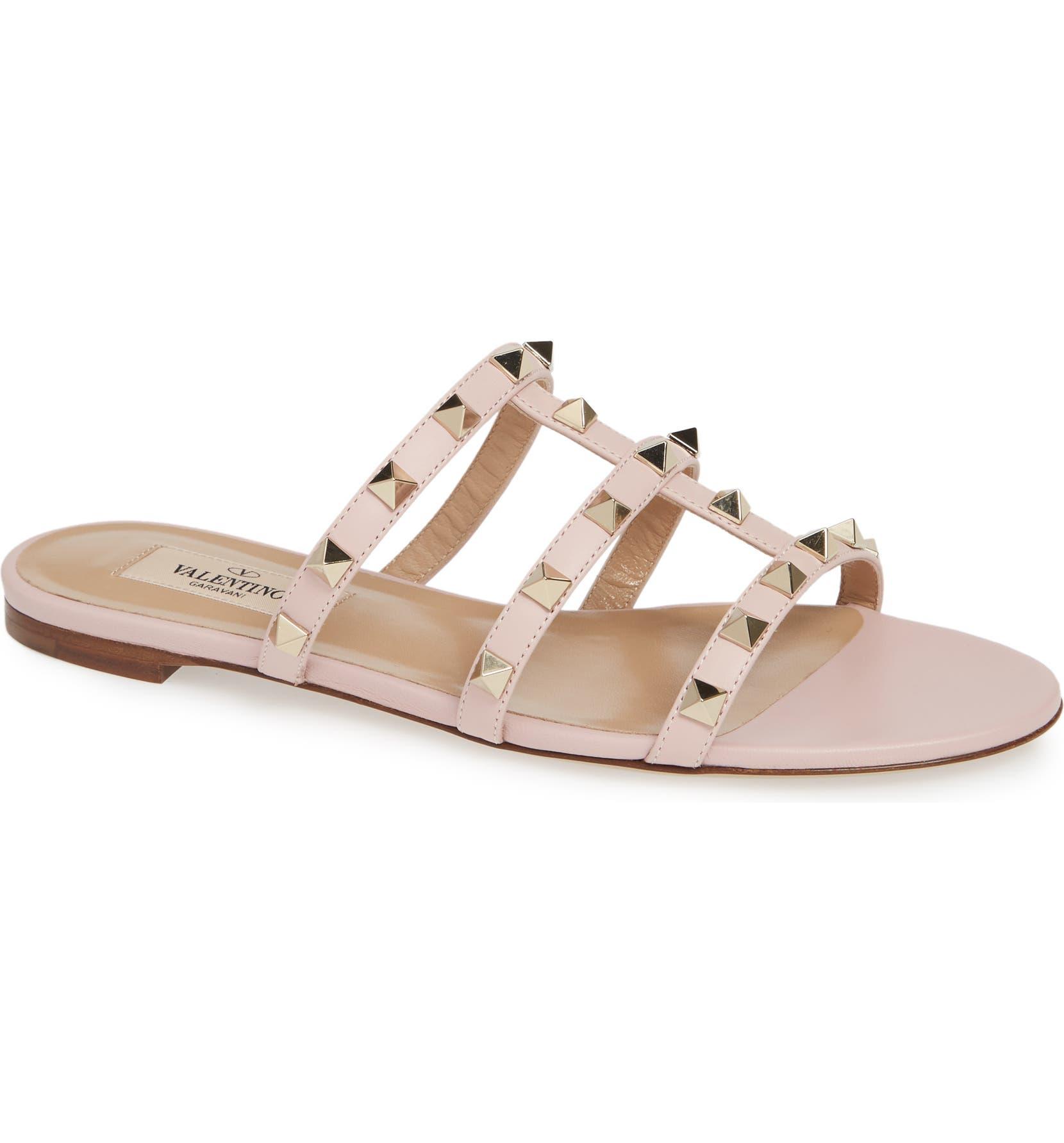 2fc0731937 VALENTINO GARAVANI Rockstud Slide Sandal (Women) | Nordstrom